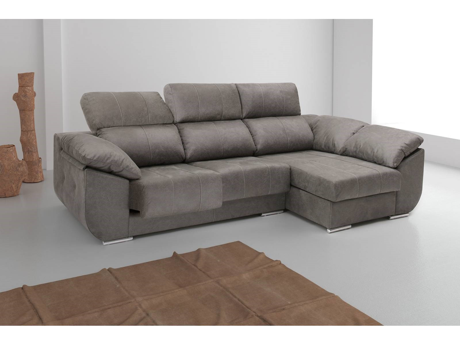 Sofa Chaise Longue 4 Plazas Contemporáneo sofá Mesmerizar De sofas Merkamueble Chaise Longue sofa Of 47  Único sofa Chaise Longue 4 Plazas