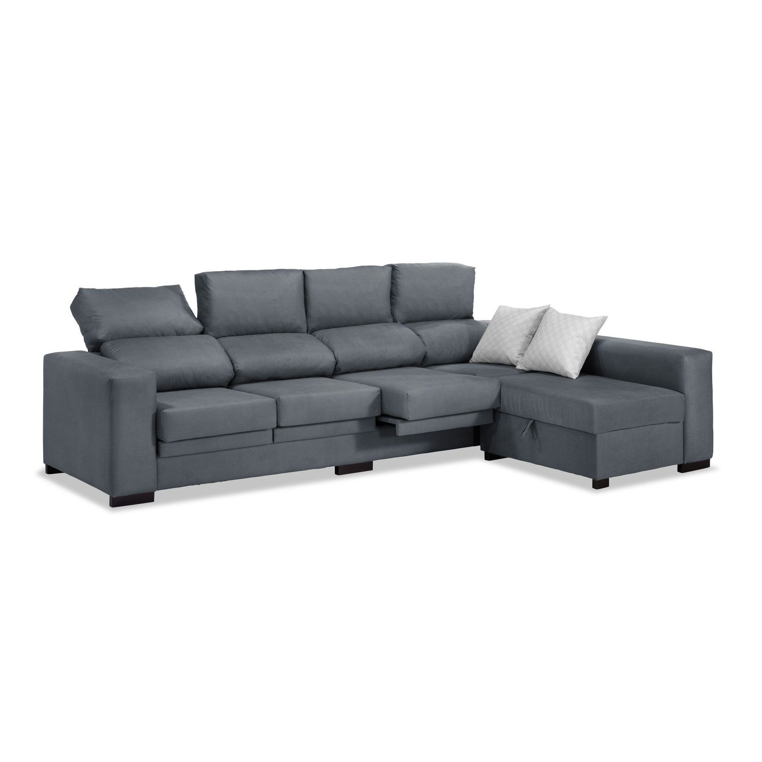 Sofa Chaise Longue 4 Plazas Fresco Contemporáneo Negro Muebles Reclinables Conjunto De sofás Of 47  Único sofa Chaise Longue 4 Plazas
