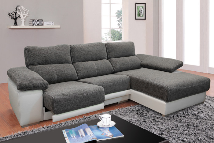 Sofa Chaise Longue 4 Plazas Magnífico Muebles sofás sofá Tela sofá 3 Plazas Con Chaise Longue Of 47  Único sofa Chaise Longue 4 Plazas