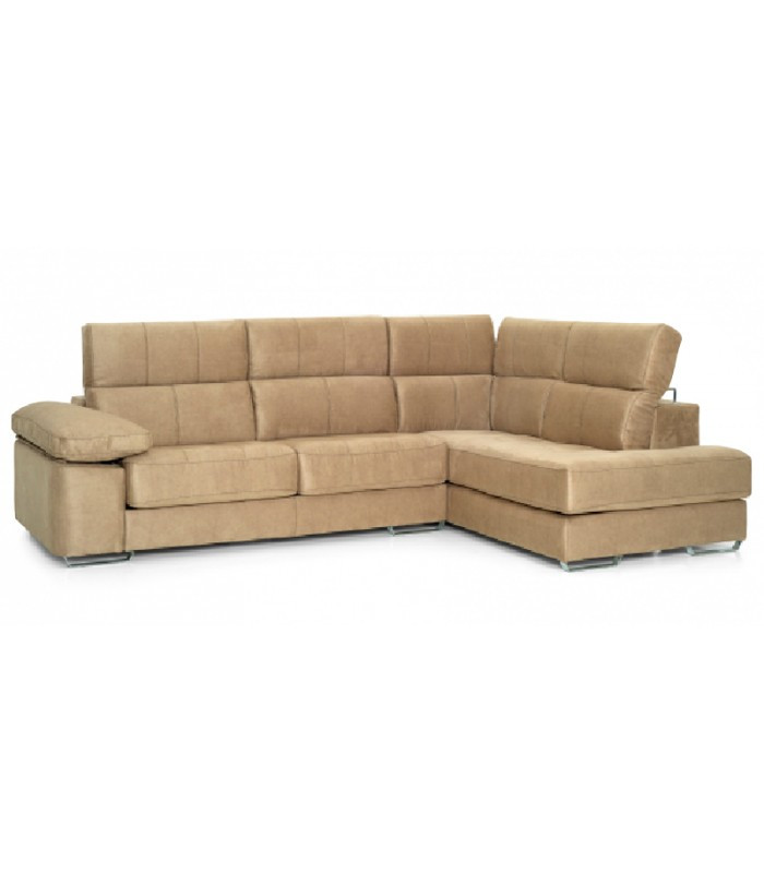 Sofa Chaise Longue 4 Plazas Magnífico sofá Cheslong Milano 4 Plazas Viscoelástico Of 47  Único sofa Chaise Longue 4 Plazas