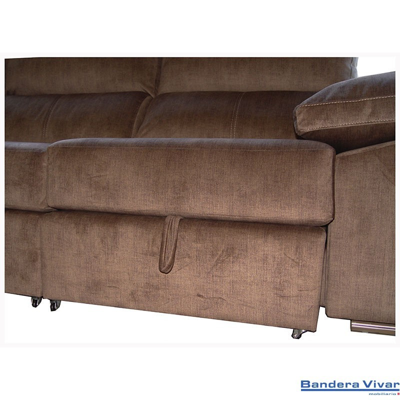 449 sofa chaisslongue convertible en cama