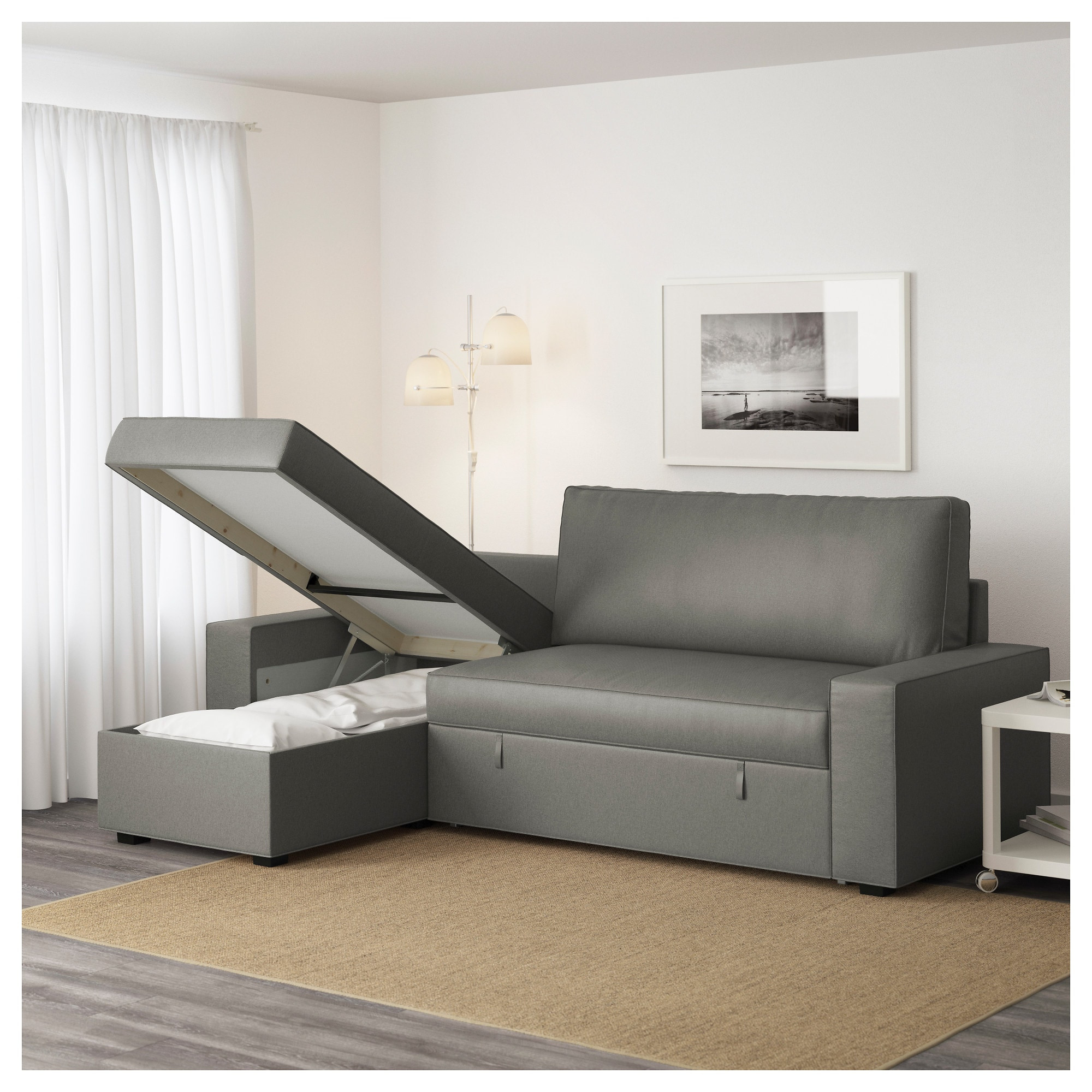 Sofas 5 Plazas Chaise Longue Lujo Vilasund sofa Bed with Chaise Longue Borred Grey Green Ikea Of Sofas 5 Plazas Chaise Longue Arriba sofás 4 Plazas Con Chaise Longue