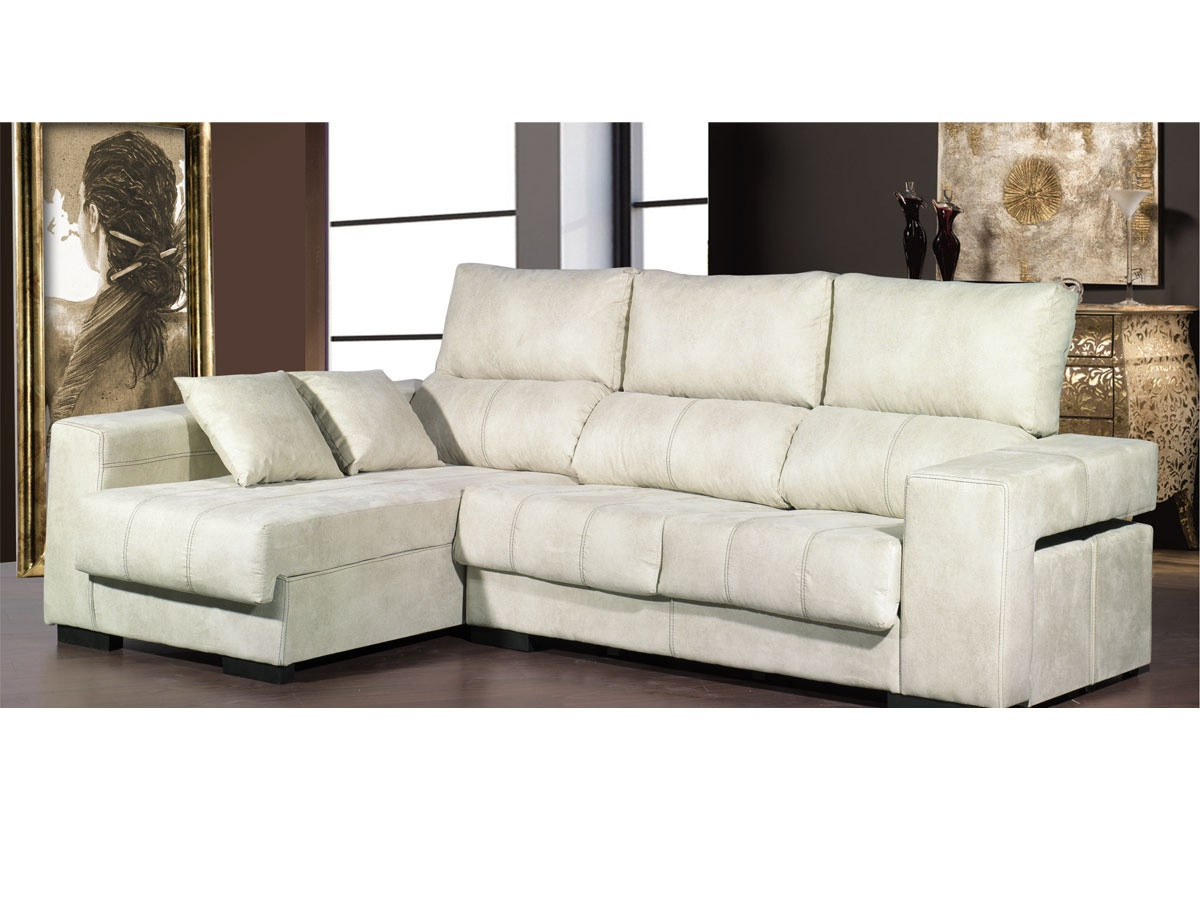sofa chaiselongue tapizado