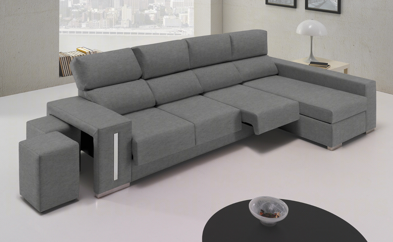 Sofas De 4 Plazas Brillante sofás En 3 Plazas Chaise Longue Derecha Visto De Frente Of 48  Brillante sofas De 4 Plazas