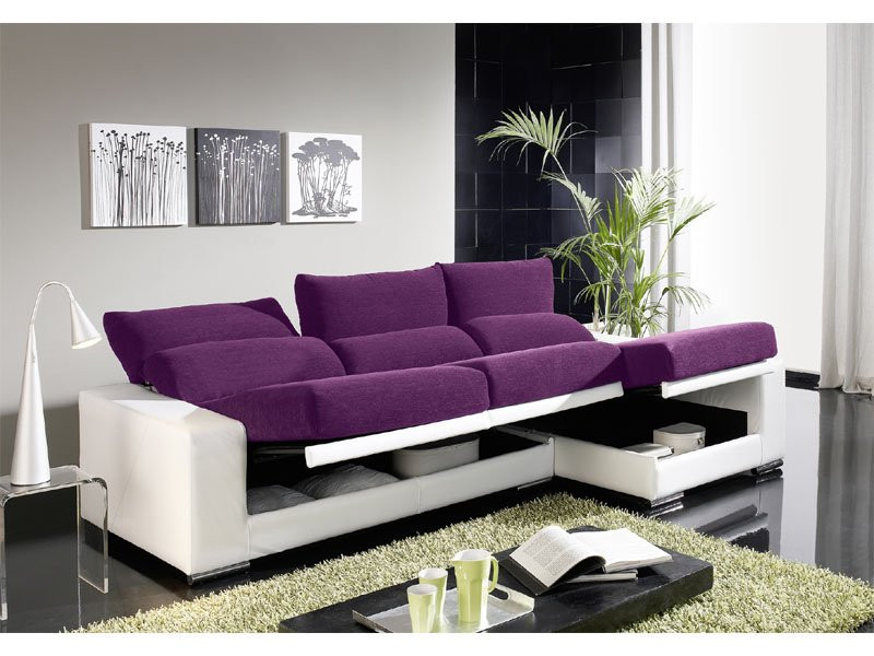 sofa chaise longue abatible arcon