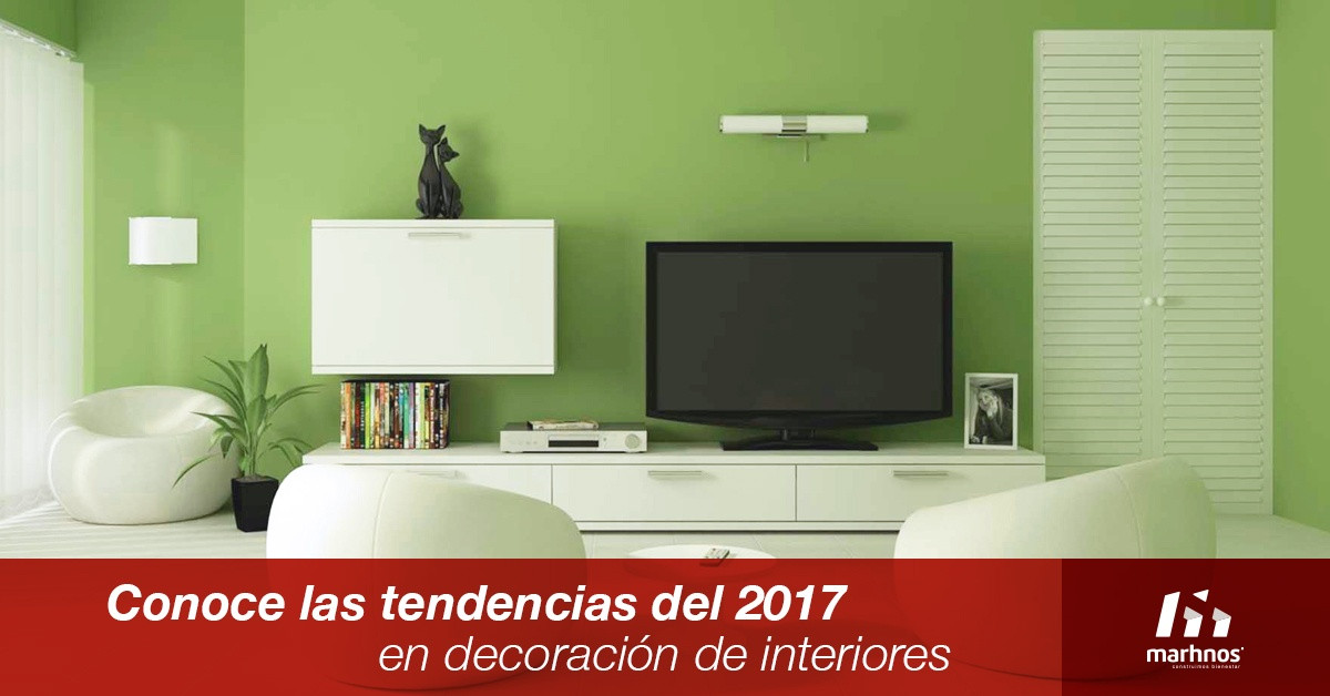 tendencias 2017 en decoracion de interiores