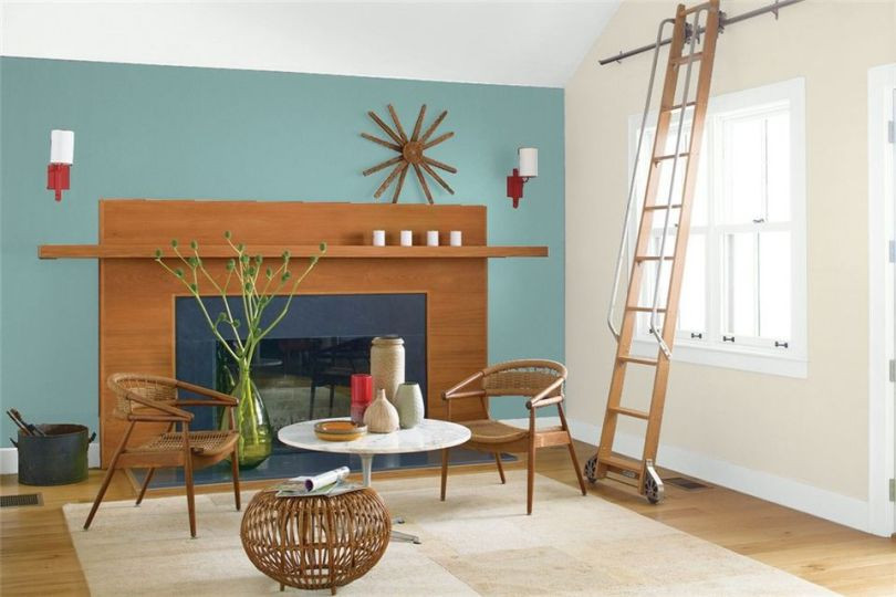 tendencias de cores interiores 2018