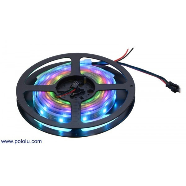 454 tira de led rgb indexable 1m ws2812b