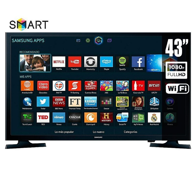 "Tv 43 Smart Tv Lujo Televisor Samsung 43"" Led Smart Tv Ecuador Of 37  Mejor Tv 43 Smart Tv"