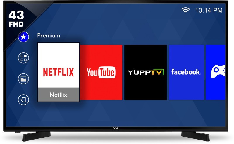 Tv 43 Smart Tv Lujo Vu 43d6575 43 Inch Full Hd Smart Led Tv Price In India On Of 37  Mejor Tv 43 Smart Tv