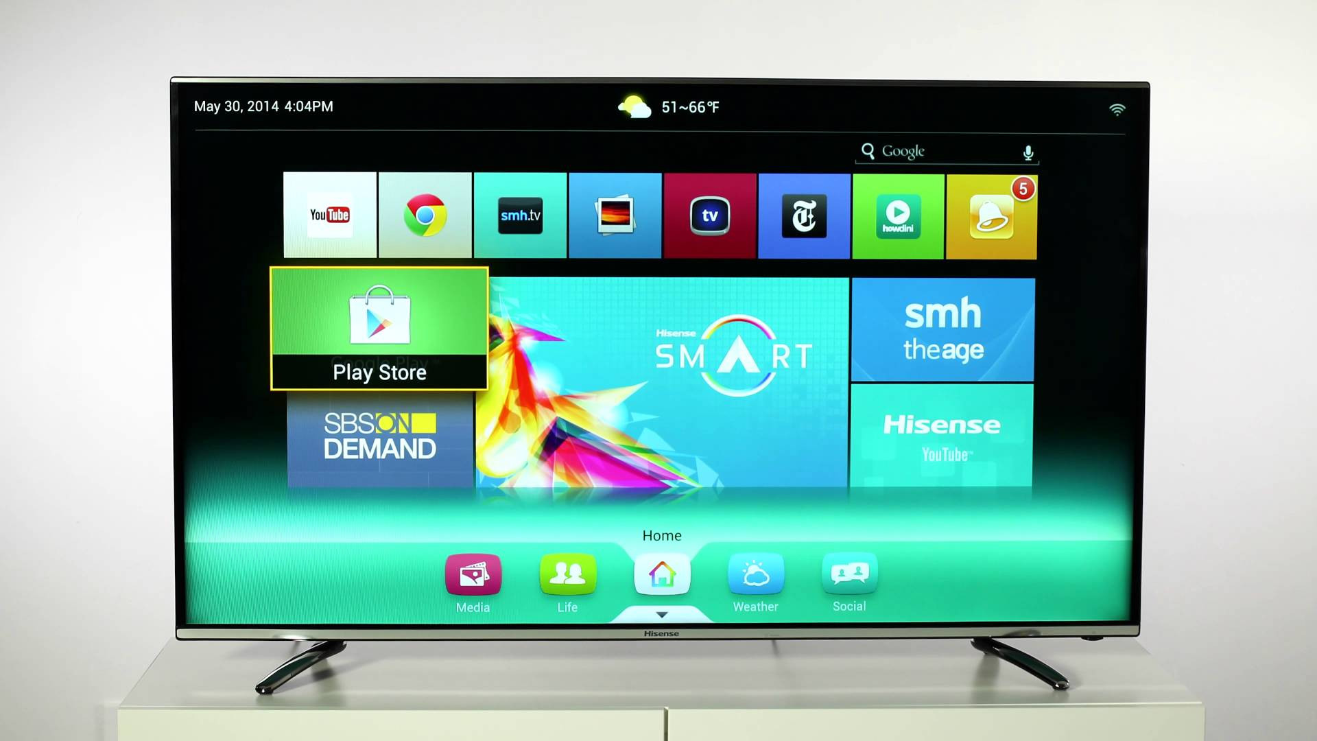 Tv Con Smart Tv Arriba Descargar Play Store Para Smart Tv Marca Hisense Of 40  Gran Tv Con Smart Tv