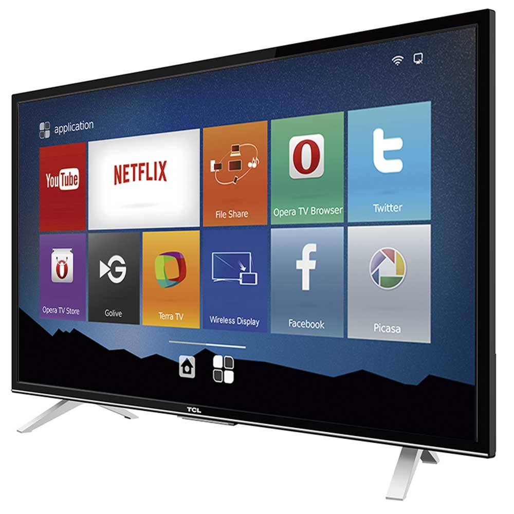 "Tv Con Smart Tv Encantador Smart Tv Led 32"" Semp Tcl Hd 3 Hdmi Usb Wi Fi Conversor Of 40  Gran Tv Con Smart Tv"