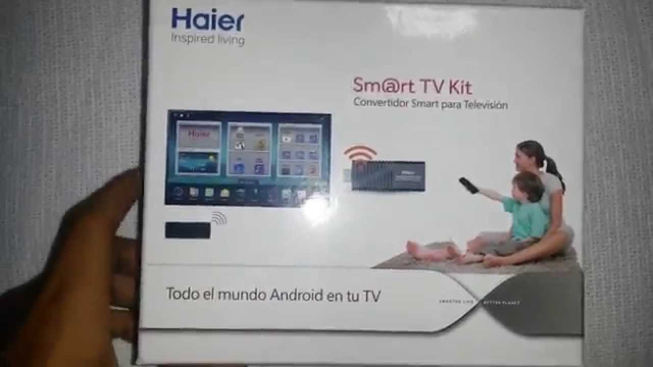 "Tv Con Smart Tv Fresco Review Haier ""smart Tv Kit"" Convierte Tu Lcd En Un Of 40  Gran Tv Con Smart Tv"