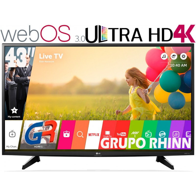 "Tv Lg 43 4k Increíble Lg Smart Tv 4k 43 Uhd 43uh6100 Grupo Rhinn Of Tv Lg 43 4k Adorable Lg 43uf690v 43"" 4k Ultra Hd Tv Lg From Powerhouse Uk"