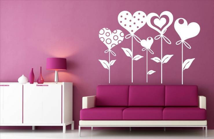 Vinilos Decorativos De Pared Adorable De 70 Ideas Para Decorar todo Tipo De Paredes De Interiores Of 44  Innovador Vinilos Decorativos De Pared