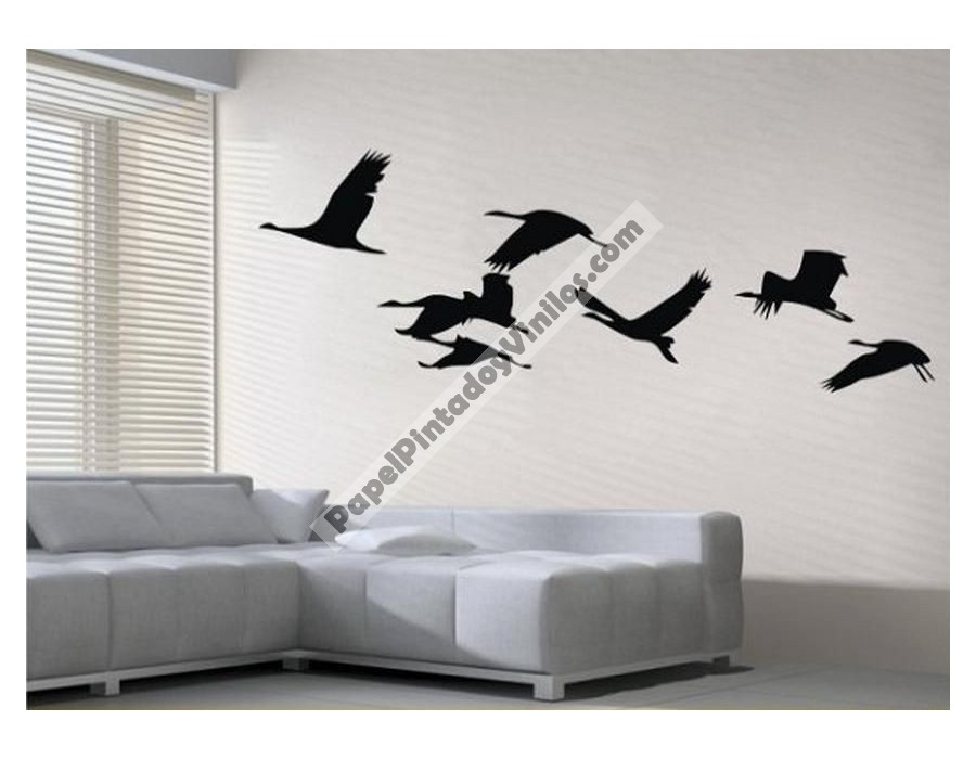 Vinilos Decorativos De Pared Brillante Vinilos Decorativos Adhesivos De Pared Gaviotas Aqm1000 Of 44  Innovador Vinilos Decorativos De Pared