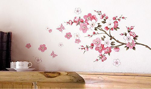 Vinilos Decorativos De Pared Encantador Vinilo Decorativo Floral Muy Elegante Of 44  Innovador Vinilos Decorativos De Pared