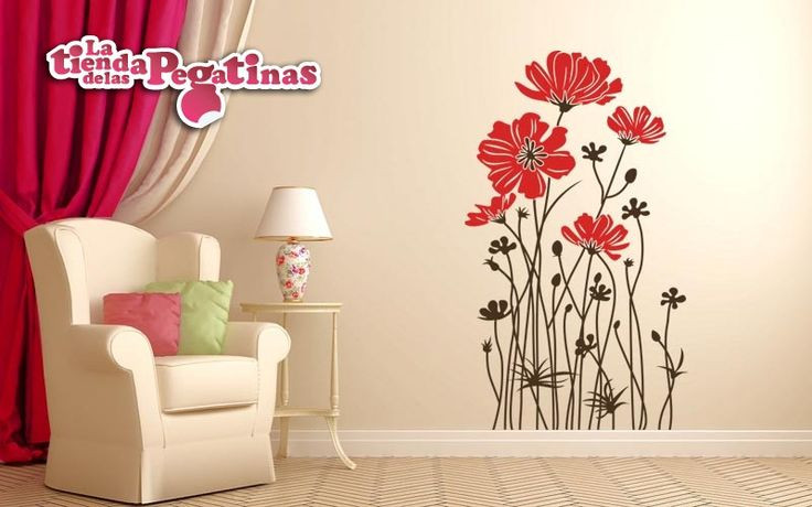 Vinilos Decorativos Para Pared atractivo 32 Best Images About Vinilos Florales On Pinterest Of 49  Mejor Vinilos Decorativos Para Pared
