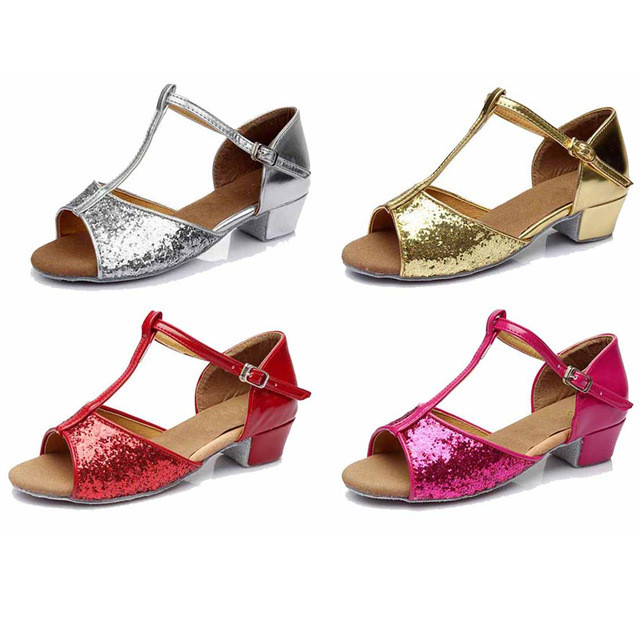 Free Shipping Latin Dance Shoes Girls Women Zapatos De