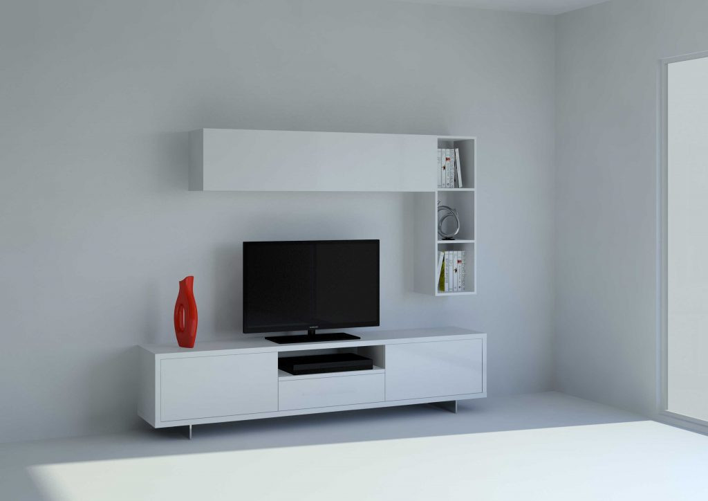 muebles tv modernos minimalistas salon